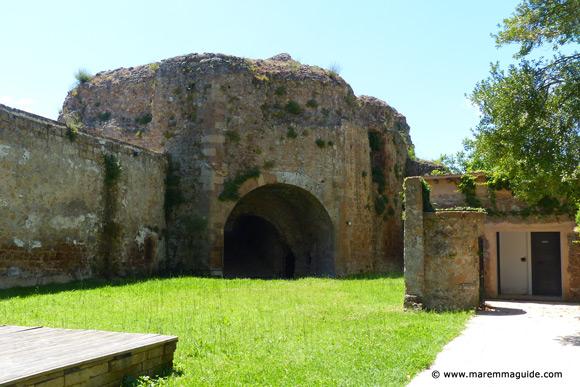 Fortezza Orsini bastion San Marco Sorano Italy