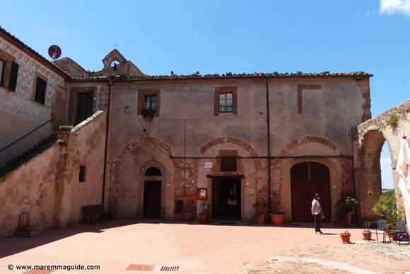 Museo del Medioevo e del Rinascimento in Piazza Cairoli Sorano Tuscany
