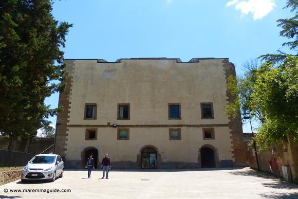 Fortezza Orsini fortress keep Sorano Italy