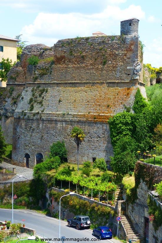 Orsini Fortress Sorano Tuscany Italy