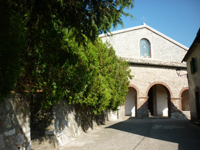 Chiesa San Biagio Gerfalco Montieri Maremma Tuscany Italy