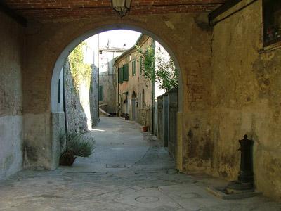 Gerfalco Montieri Toscana