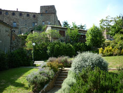 Tatti medieval castle keep and public garden
