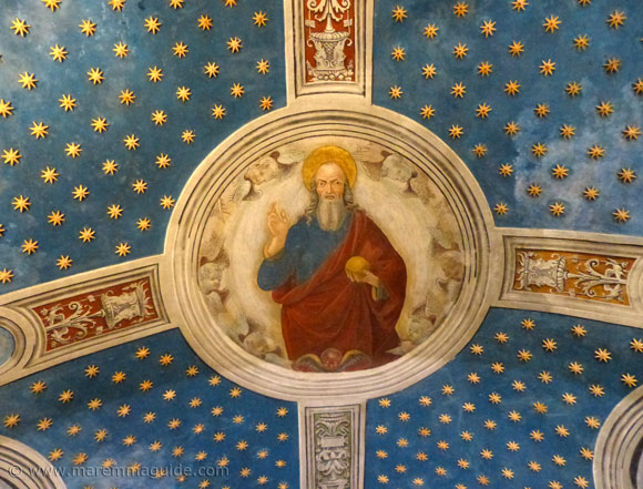 Girolamo di Domenico fresco Eternal Padre Seggiano