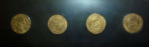 Gold treasure coins: lost gold treasures. Il Tesoro di Scarlino - the treasure of Scarlino