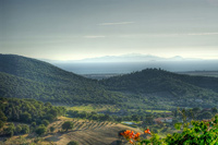 Beautiful landscape photos: Golfo di Follonica and Isola d'Elba, Maremma