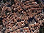 Grosseto historic city centre Tuscany