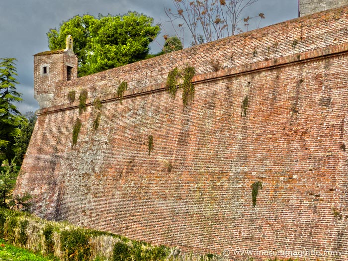 Grosseto city walls