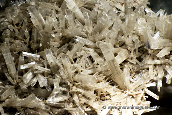 Gypsum crystals from Larderello in Maremma Tuscany