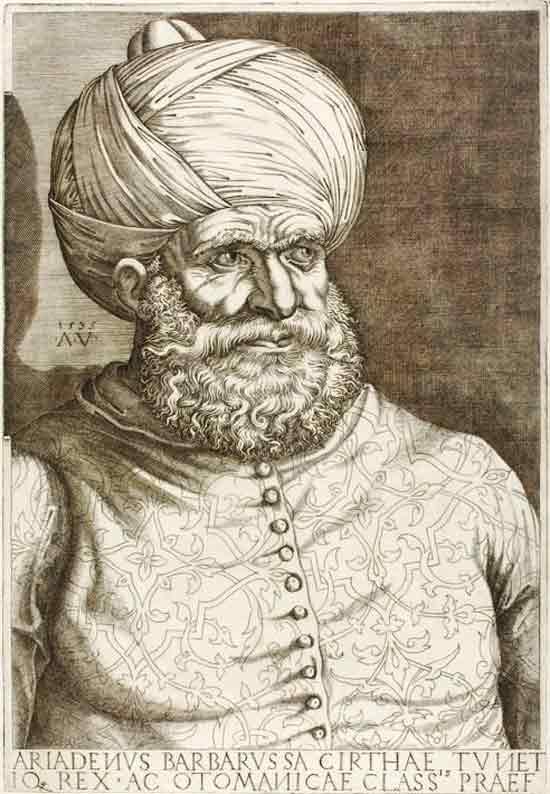 Corsair Hayreddin Barbarossa - Red Beard