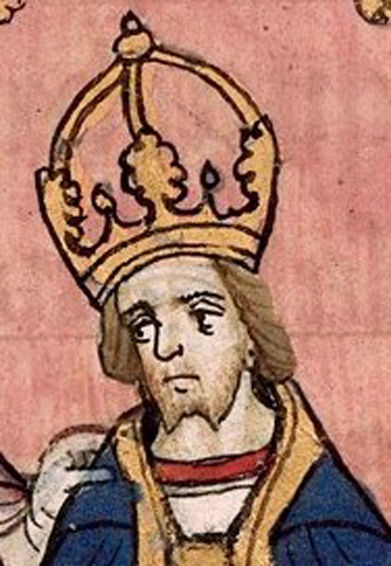 German King and Holy Roman Emperor, Henry VII of Luxembourg.