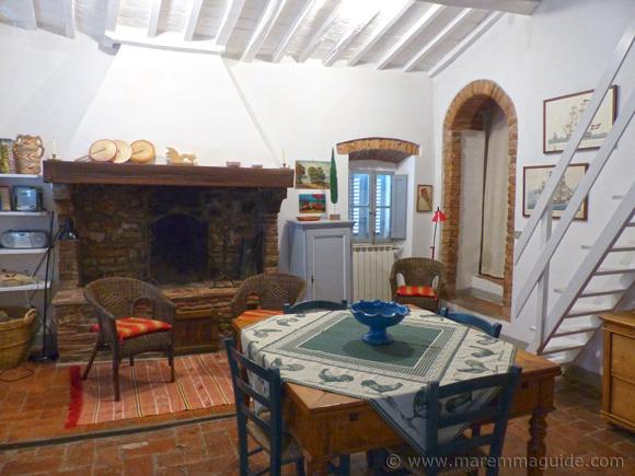 Vacation home Tuscany.