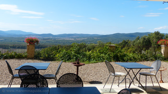 Tuscany holiday villa with a stunning view
