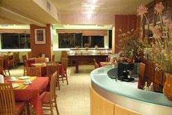 Hotel Duca del Mare bar and breakfast room, Massa Marittima Maremma Italy