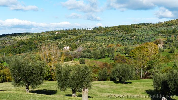 Castel del Piano real estate Monte Amiata Maremma Tuscany