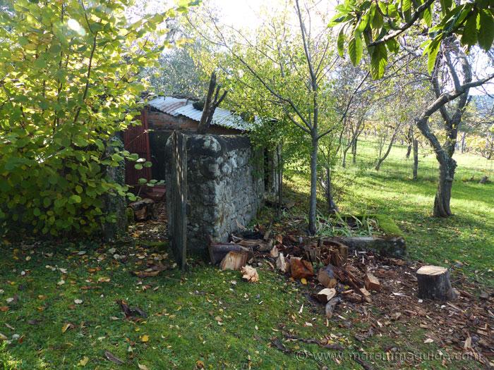 Outbuilding at Podere Peroporcino.