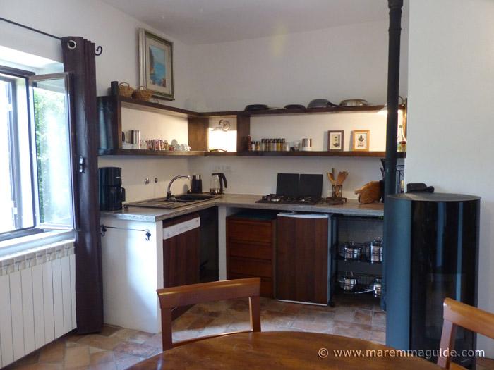 Tuscan cottage kitchen
