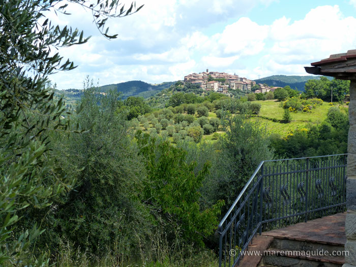 View of Seggiano from house