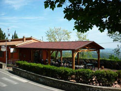 Il Barrino bar and ristorante in Tatti.