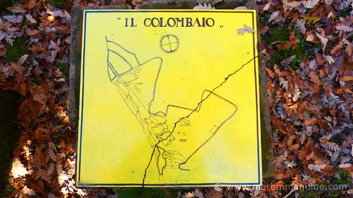 Il Colombaio Vitozza diagram