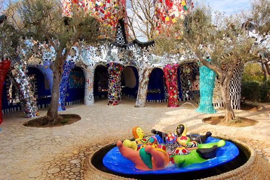 Tarot Garden of Niki de Saint Phalle: Il Giardino dei Tarocchi