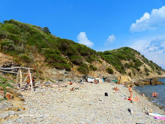 Cala Il Poggettone Punta Ala beaches Maremma Tuscany Italy