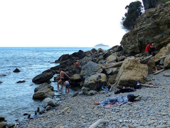 Spiaggia Il Poggettone beach Maremma Tuscany