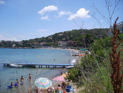 Il Pozzarello beach, Porto Ercole