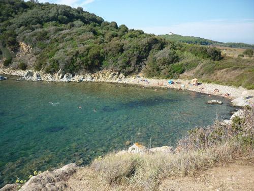 Il Pozzino beach Piombino Baratti Maremma Tuscany Italy