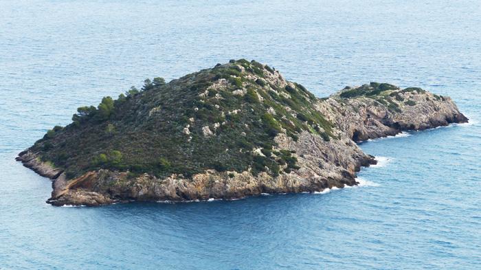 L'Isolotto di Porto Ercole island