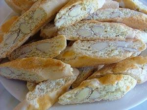 Italian biscotti Cantuccini