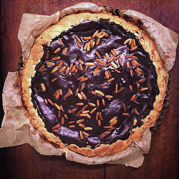Italian chocolate tart recipe