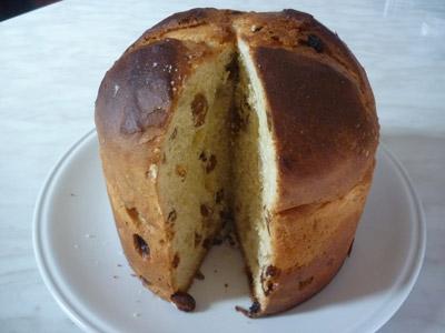 Italian Christmas bread: Panettone