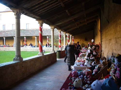 Italian Christmas Market crafts Massa Marittima Maremma Italy