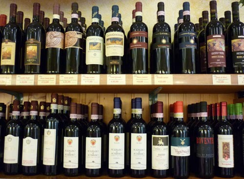 Italian red wines from Maremma Italy