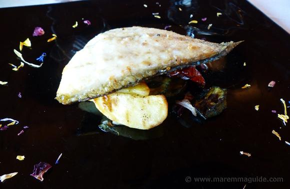 Italian seafood main dishes.
