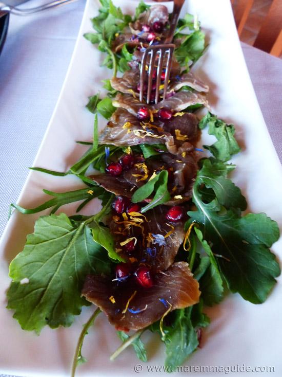 Cold Italian seafood salad