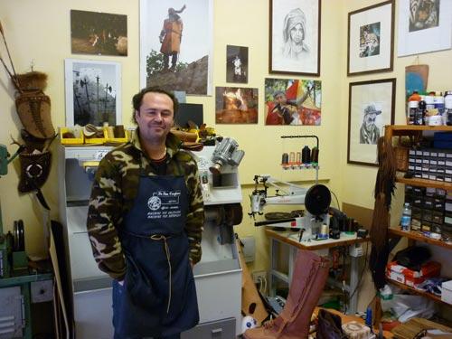 Italian Shoemakers: Diego Daddi, Suvereto, Maremma Italy