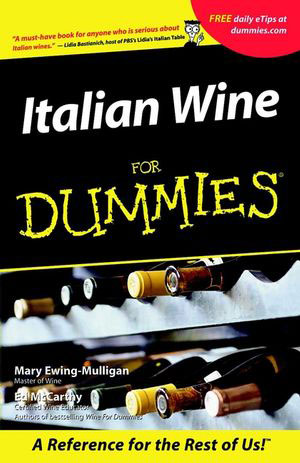 Italian Wine for Dummies book