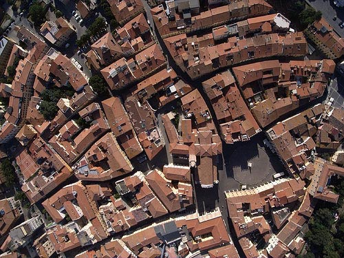 Italy cities towns villages hamlets in Maremma