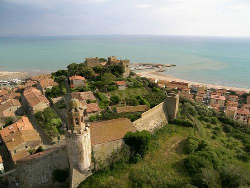 Italy towns: Castiglione della Pescaia Maremma Tuscany