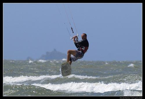 Kitesurfing Maremma Tuscany Italy