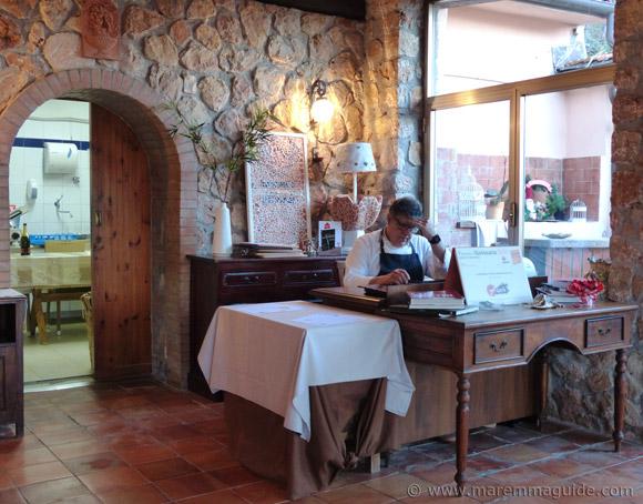 Chef Umberto Amato La Fontanina di San Pietro Porto Santo Stefano Monet Argentario