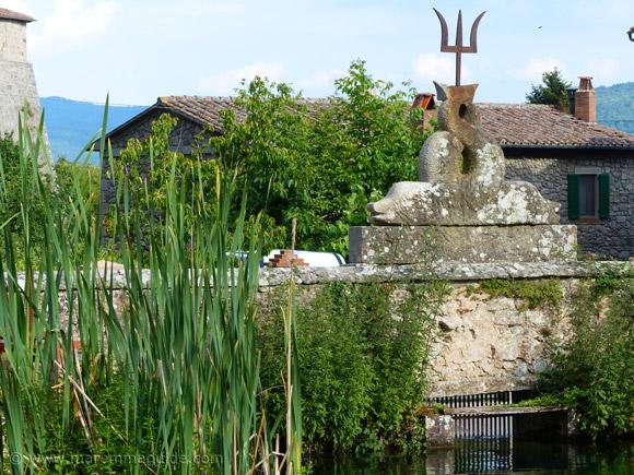 La Peschiera Santa Fiora Maremma Tuscany Italy.