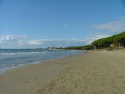 Ponente beach Follonica Maremma Italy