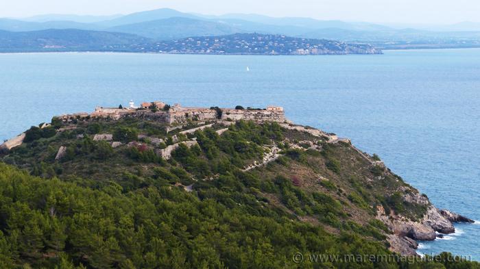 Rocca Aldobrandesca Porto Ercole Tuscany Italy.
