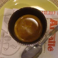 La Sirena Italian expresso in a chocolate biscuit cup