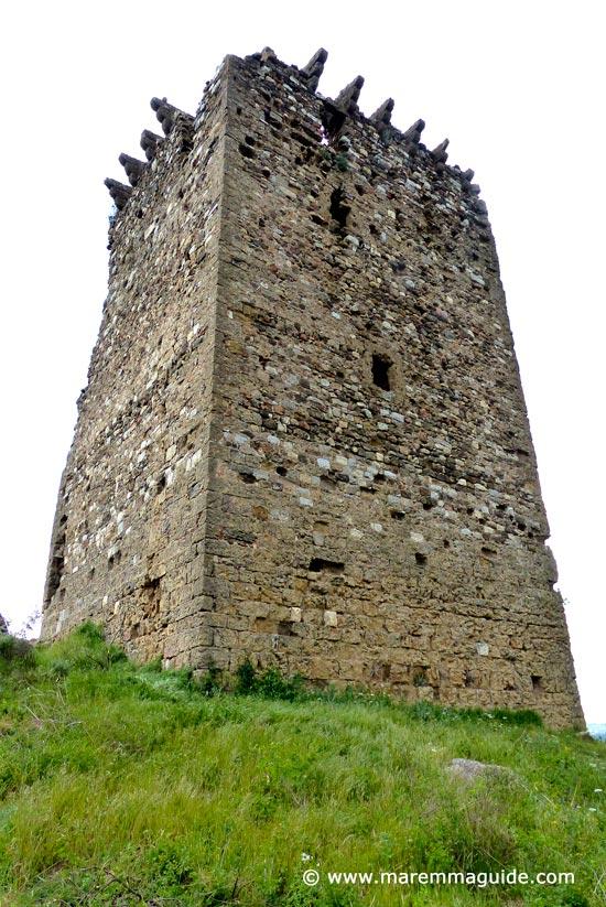 La Torraccia di Cornia: medieval tower in Maremma Tuscany
