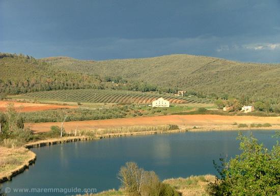 Lago dell'Accesa Massa Marittima Maremma Tuscany