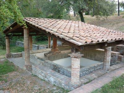 Il lavatoio Parco delle Biancane Monterotondo Marittima Maremma Tuscany Italy